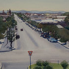 Broken Hill, Outback Town 52cm x 36cm